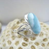 Ларимар Ювелирное кольцо овальный Eni YR13 10116 Larimar-Stone