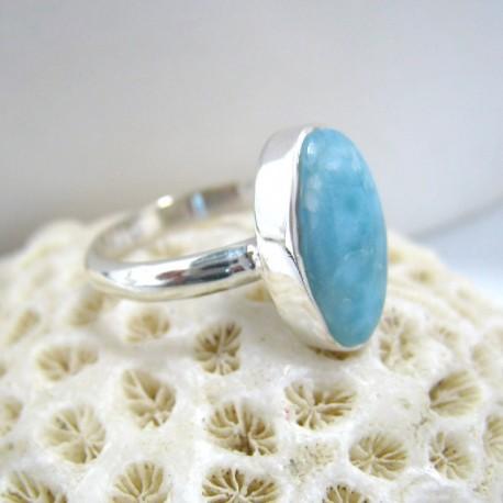 Larimar-Stone Larimar Ring Oval YO12 10082 39,00 €
