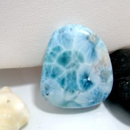 Larimar-Stone Larimar Tumbled Hand flatterer HS27 10353 69,99 €