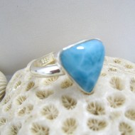 Ларимар Ювелирное кольцо RD4 10085 Larimar-Stone