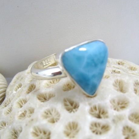 Larimar-Stone Ring Larimar Dreieck RD4 10085 39,00 €