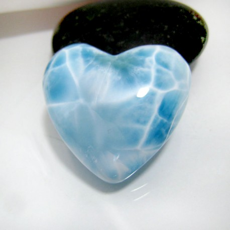Larimar-Stone Larimar Herz Cabochon HZ7 10363 89,90 €