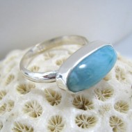 Larimar Yamir Ring Oval Y15