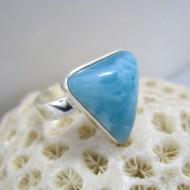 Larimar-Stone Ring Larimar Dreieck RD6 10092 35,90 €