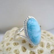 Larimar-Stone Ring Larimar Oval YO8 10094 44,90 €