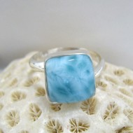 Larimar-Stone Ring Larimar Viereck LV8 10095 49,00 €