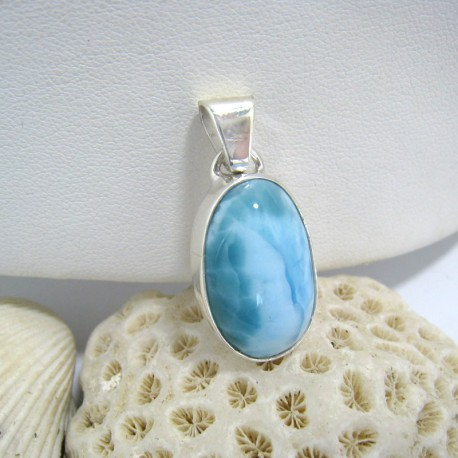Ларимар ювелирные изделия кулон OV16a 10167 Larimar-Stone