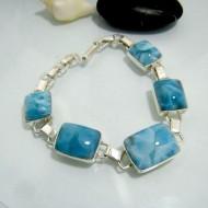 Larimar-Stone Yamir Bracelet 5 Stones YV3 10324 219,00 €
