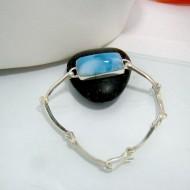 Larimar-Stone Larimar Unisex Bracelet LU1 10326 89,00 €