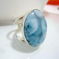 Ларимар Ювелирное кольцо YR4 10330 Larimar-Stone