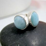 Larimar-Stone Larimar Earrings Round OR23 10333 24,90 €
