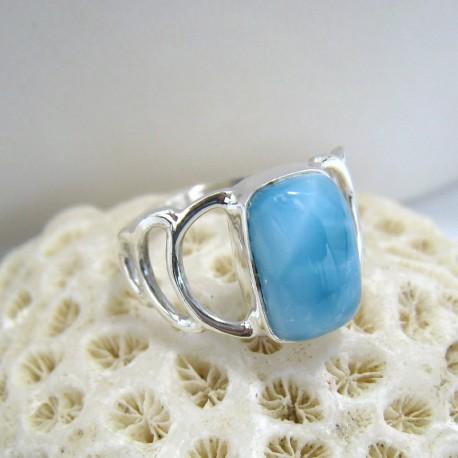 Larimar-Stone Larimar Ring Viereck YR4 10104 49,90 €