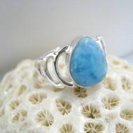 Larimar-Stone Larimar Ring Aki Tropfen YT5 10105 49,90 €