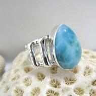Larimar-Stone Larimar Luxury Ring Tropfen Unisex YL6 10110 89,00 €