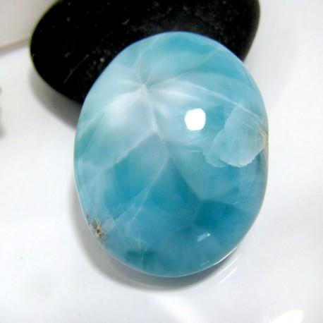Larimar-Stone Oval Cabochon OC45 10383 39,90 €