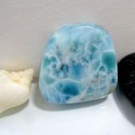 Ларимар галтованный HS28 10391 Larimar-Stone