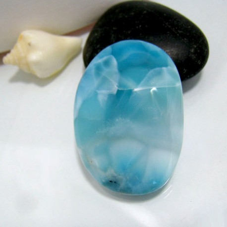 Larimar-Stone Larimar Freeform Cabochon Larimar FC100 10401 69,90 €