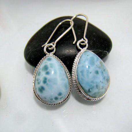 Larimar-Stone Larimar Earrings Drop YO17 10445 59,00 €