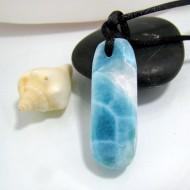 Larimar-Stone Larimar Stein mit Bohrung und Band SB94 10479 79,90 €