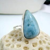 Larimar-Stone Larimar Ring Tropfen YF9 10464 59,90 €