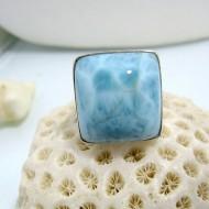 Larimar-Stone Ring Larimar Viereck LV12 10466 59,90 €