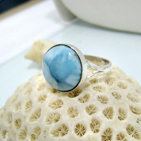Larimar-Stone Larimar Ring Rund LR5 10467 44,00 €