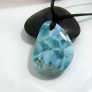 Larimar-Stone Larimar Stein mit Bohrung und Band SB102 10487 89,90 €