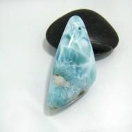 Ларимар камень пробурена SB124 10509 Larimar-Stone