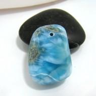 Larimar-Stone Larimar Stone Polished with drilled hole SB134 10519 59,90 €