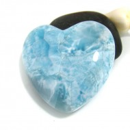 XXL Ларимар сердце кабошон HZ8 10538 Larimar-Stone
