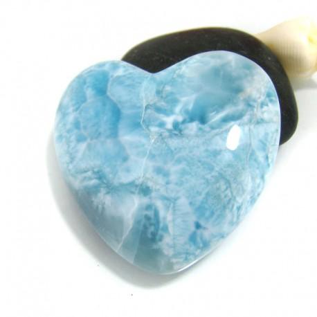Larimar-Stone XXL Herz Cabochon HZ8 10538 169,90 €