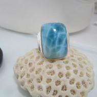 Larimar-Stone Larimar Luxury Ring Viereck Unisex YL6 10594 139,00 €
