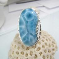 Larimar-Stone XXL Yamir Luxury Ring Oval Tripple YR4 10595 239,00 €