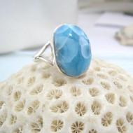 Larimar-Stone Larimar Ring Freeform YF16 10597 49,90 €