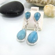 Larimar-Stone Larimar Earrings Drop OT12 10606 69,99 €