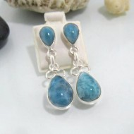 Larimar-Stone Larimar Earrings Drop OT13 10607 79,99 €