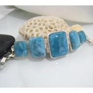 Larimar-Stone Larimar Yamir Armband 5x Viereck YA1 10612 299,00 €