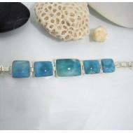 Larimar-Stone Larimar Yamir Armband 5x Viereck YA2 10613 299,00 €
