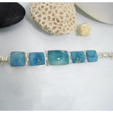 Yamir Luxury Brazalete 5 Piedra YA2 10613 Larimar-Stone 299,00 €