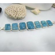 Yamir Luxury Bracelet 7 Quadrangle YA5 10615 Larimar-Stone 359,00 €