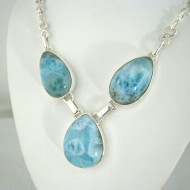 Larimar-Stone Yamir Collier Necklace 9090 239,00 €