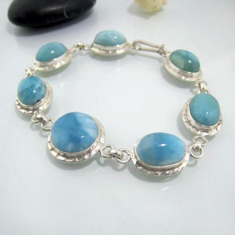 Larimar-Stone Yamir Bracelet 7 Larimar Stones Classic LC20 10626 129,00 €