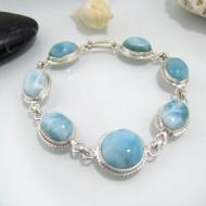Larimar-Stone Yamir Bracelet 7 Larimar Stones Classic LC22 10628 119,00 €