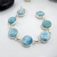 Larimar-Stone Yamir Bracelet 7 Round LC23 10629 109,00 €