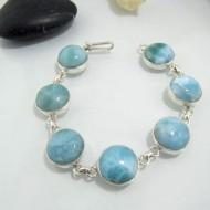 Yamir Luxury Bracelet 7 rond LC25 10631 Larimar-Stone 109,00 €