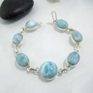 Larimar-Stone Silber Armband mit 7 Larimar Steinen LC28 10633 99,00 €