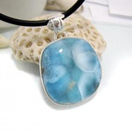 Ларимар kулон свободной форме FR43 10657 Larimar-Stone