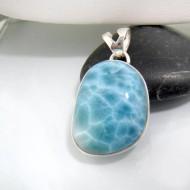 Ларимар kулон свободной форме FR45 10661 Larimar-Stone