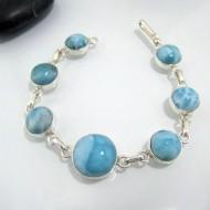Yamir Luxury Bracelet 7 rond LC32 10638 Larimar-Stone 99,00 €