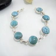 Yamir Luxury Bracelet 7 rond LC33 10639 Larimar-Stone 89,00 €